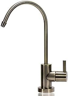 NU Aqua Antique Brass Designer Reverse Osmosis Faucet