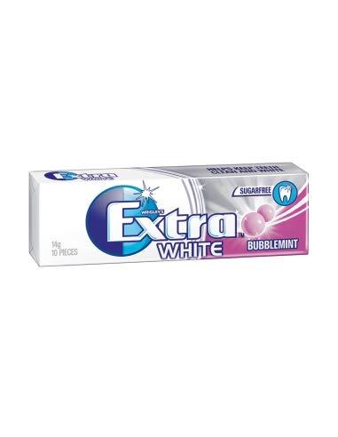 Extra Blanco Bubblemint x 24