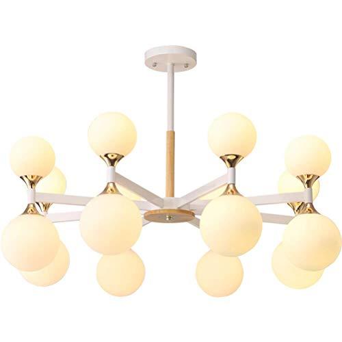 Hanglampen, hanglampen, plafondlampen, Scandinavische stijl, restaurant, mode, woonkamer, spin, hotel, creatieve hanger van glas, groen