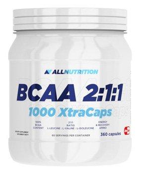 All Nutrition BCAA 2:1:1 1000 Xtracaps 360 Capsules