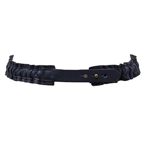 MAURO GRIFONI 7855AC cintura elasticizzata bimba girl vintage leather belt [2 (52-72 CM)]