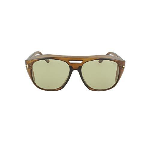 Gafas de Sol Tom Ford FENDER FT 0799 BROWN/GREEN 59/16/145 hombre