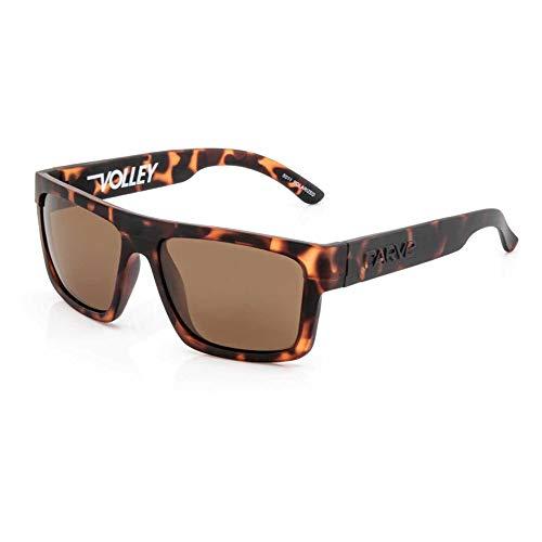 Carve Volley - Gafas de sol flotantes, color marrón mate, polarizadas