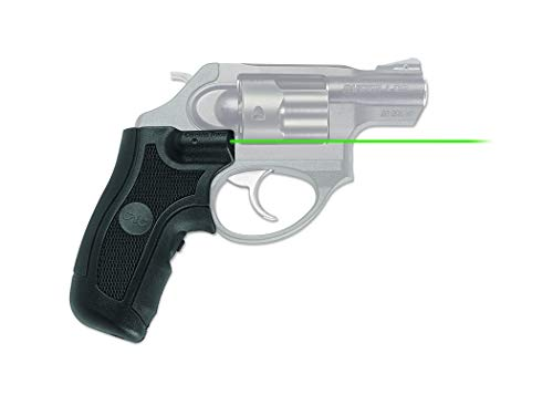 Crimson Trace LG-415G Lasergrips with Green Laser, Heavy Duty Construction and Instinctive Activation for Ruger LCR & LCRX Pistols, Defensive Shooting and Competition