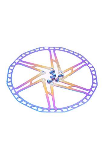 BR-D1P-2 ROAD Sistema De Freno De Bicicleta Rotor De Freno De Disco Flotante De Bicicleta Rotores De Disco De Seis Orificios 140 160 180 203mm Ligero Y Duradero ( Color : 160mm )