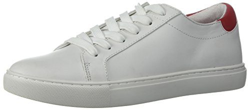Kenneth Cole New York Women's Kam Lace Up Sneaker-Chinese New Year-Techni-Cole 37.5 Lining, White, 5.5 Medium US