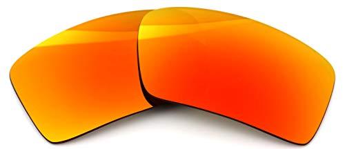 IKON LENSES Polarized Replacement for Oakley Eyepatch 2 Sunglasses - Fire Orange Mirror