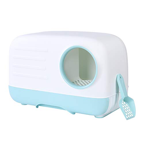 Cat Little Box Pull-Out Cat Litter Toilet Separate Design Easy to Clean and Wash...