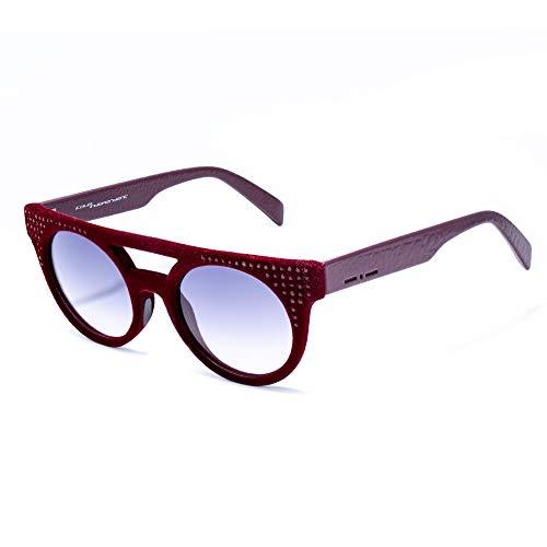 italia independent 0903CV-057-000 Gafas de sol, Burdeos, 50 Unisex