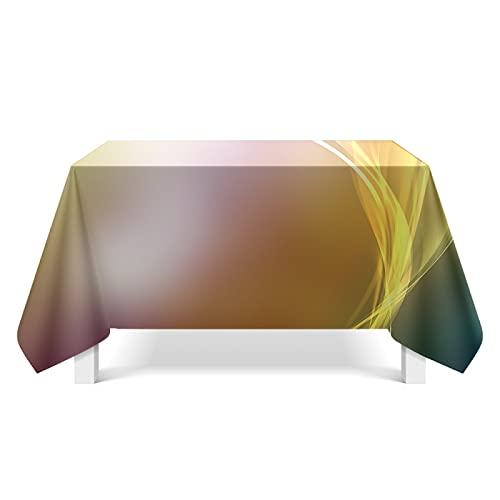 CYYyang Mantel de Plástico para Fiestas Interiores o Exteriores Cumpleaños Bodas Picnics Arte de Textura Ligera