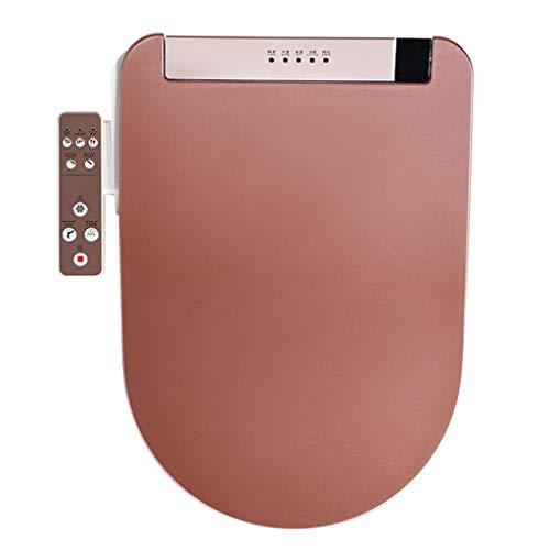 U-type thuis LCD Smart toiletdeksel V type, volautomatische intelligente toiletbril elektronische bidet-toiletbril verwarming, deodorant, reiniging, drogen, krimpen A U