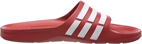 Adidas Unisex-Erwachsene Duramo Slide Dusch- & Badeschuhe, Rot (Collegiate Red/White/Collegiate Red), 44 2/3 EU