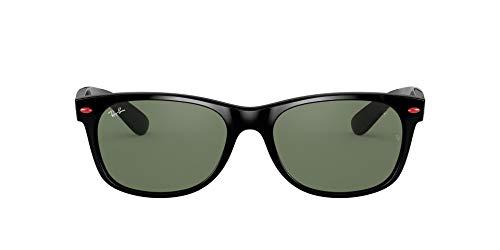 Ray-Ban 0RB2132M Gafas de lectura, BLACK, 55 Unisex