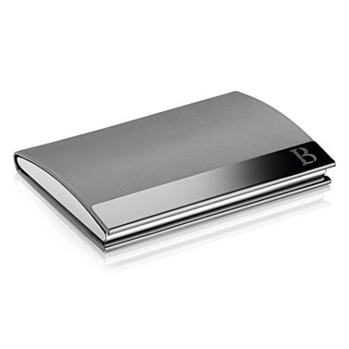 Visitenkarten Etui - Kartenetui Herren mit praktischem Magnetverschluss - Scheckkartenetui mit Platz für 23 Visitenkarten - LOGAN & BARNES - Modell Cologne