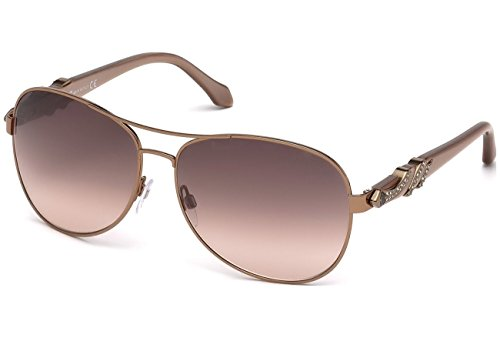 Occhiali da sole Roberto Cavalli RC880S C63 35F (matte light bronze / gradient brown)