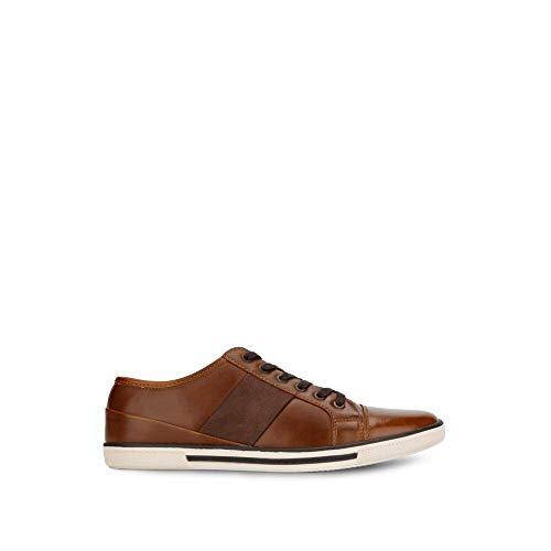 UNLISTED Herren Crown Sneaker Turnschuh, Cognac, 45 EU