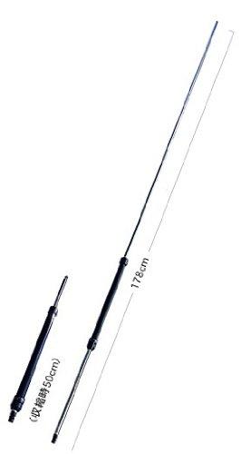 第一電波工業 ダイヤモンド 7-50MHz帯ポータブル無線機用ハンディアンテナ コネクターBNC-P RHM8B - ダイヤモンドアンテナ