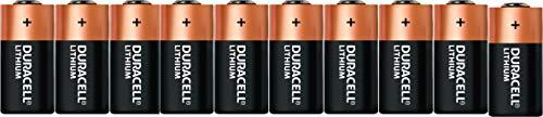Duracell CR17355 Ultra Lithium Batterie CR 2 (10-er Pack) schwarz/Kupfer