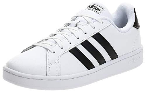 adidas Grand Court, Zapatillas de Running para Hombre, Multicolor (Ftwr White/Core Black/Ftwr White F36392), 43 1/3 EU