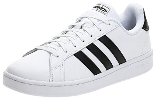 adidas Grand Court, Zapatillas de Running para Hombre, Multicolor (Ftwr White/Core Black/Ftwr White F36392), 41 1/3 EU