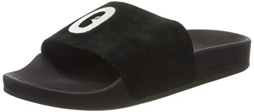 adidas Damen Adilette W Dusch- & Badeschuhe Schwarz (Core Black/FTWR White), 35.5 EU