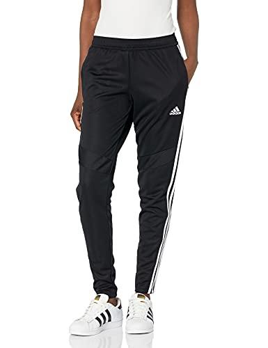 adidas Women's Standard Tiro 19 Pants, Black/White, X-Small