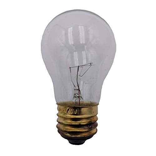 Supplying Demand Clear 40-Watt Standard Base A15 Appliance Light Bulb Fits Refrigerators & Ranges