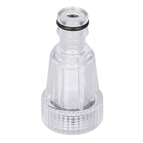 Almencla Filtro Filtrante para Limpradora a Presion Alta de Plastico Transparente Resistente