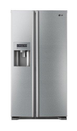 LG GS7161AELV American Style Fridge Freezer Brushed Steel