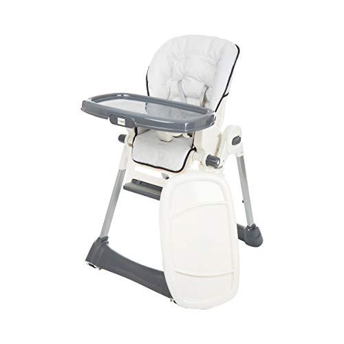 littleworld Hochstuhl Henry - höhenverstellbarer Babyhochstuhl mit verstellbarer Rückenlehne, 5-Punkt-Gurtsystem & rutschfesten Vorderbeinen