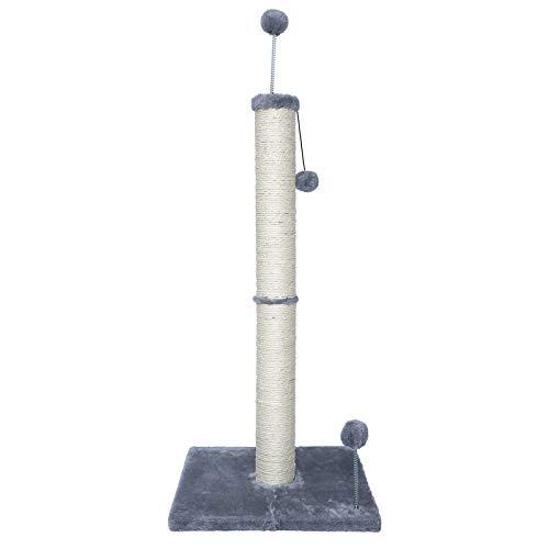 Poils bebe Árbol rascador para gatos para habitaciones, 97 cm, accesorio para árbol rascador y torre trepadora con 3 bolas de juguete para gatos y adultos