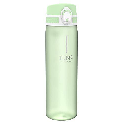 Ion8 Auslaufsichere Schlanke Trinkflasche, BPA-frei, 500ml, Seeschaum, I8500BSEA