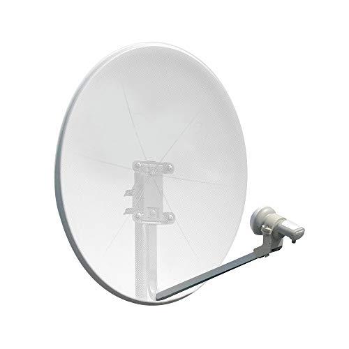 Metronic 498165 TV-Antenne - TV-Antennen (Weiß, 37 dBi, 9.75/10.6GHz, 10.7-12.75GHz)