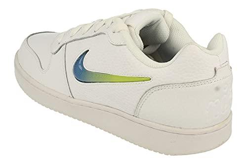 NIKE Ebernon Low Prem Aq1774 - Zapatillas deportivas para hombre, White Game Royal Lime Blast 100, 46 EU