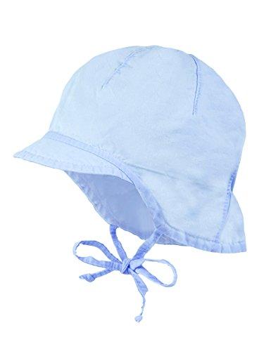maximo Baby-Jungen Schildmütze, Nackenschutz Mütze, Blau (Cerulean 21), 43