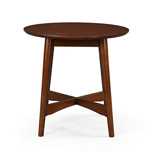 Christopher Knight Home Behrens Mid-Century Modern Wood End Table, Walnut