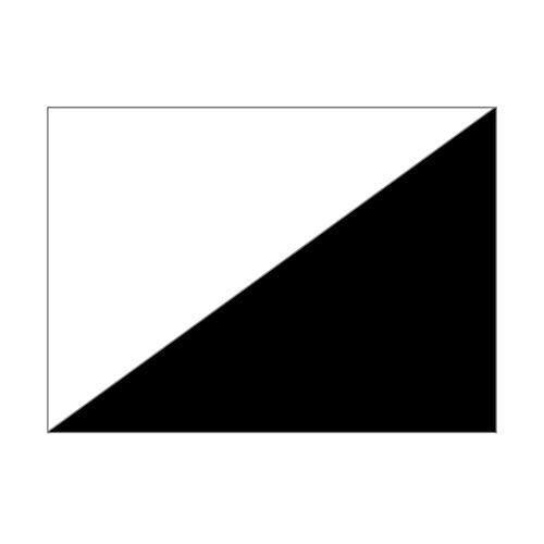 MarpaJansen Faltblätter-Packung Duo-Color - Origamipapier - (20 x 20 cm, 60 Blatt, 80 g/m²) - weiß/schwarz