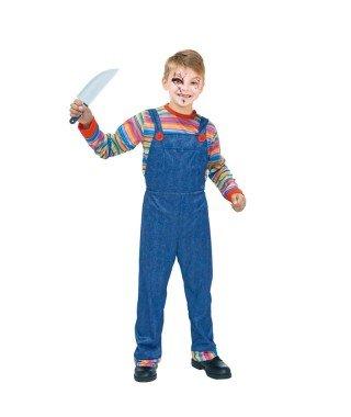 Disfraz Muñeco Asesino para niño(4-6 años) 20077