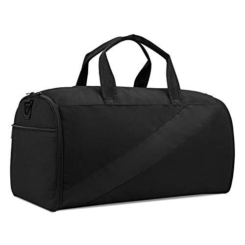 Plambag Porta Abiti da Viaggio, Borsa da Viaggio Uomo Donna con Grande Capacità, Design di Tante Tasche e Isolamente per Scarpe