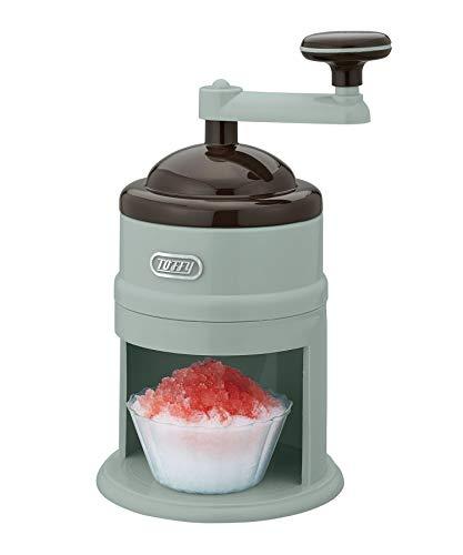 【Toffy/トフィー】 コンパクトかき氷器 K-IS7 (ペールアクア) 手動 電源不要 コンパクト 専用製氷カップ付 バラ氷対応 ジュース 牛乳 味付き氷対応 ころん レトロ かわいい K-IS7-PA