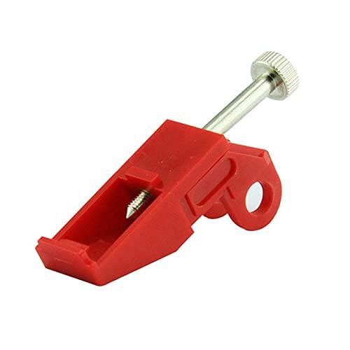 Dispositivo de bloqueo del disyuntor: bloqueo del disyuntor con botón pulsador, bloqueo de seguridad eléctrica Bloqueo del disyuntor del interruptor de aire en miniatura
