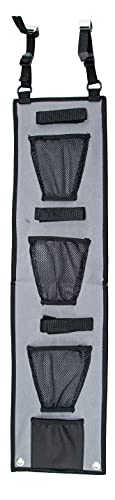 Lockdown Handgun and Tactical Rifle Upper Hanger with Mesh Pockets for Gun Vault Organization, Storage and Security