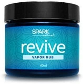 Revive Vapor Rub Spark Naturals Essential Oil Salve Organic 100% Pure