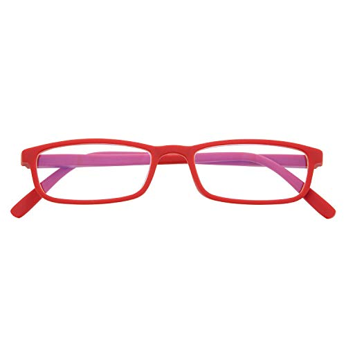 DIDINSKY Blaulichtfilter Brille für Damen und Herren. Blaufilter Brille mit stärke oder ohne sehstärke für Gaming oder Pc. Blendschutzgläser. Ferrari +1.5 – ARKEN SCREEN