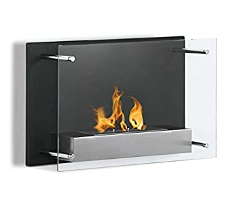 Best wall mounted ventless fireplace Reviews