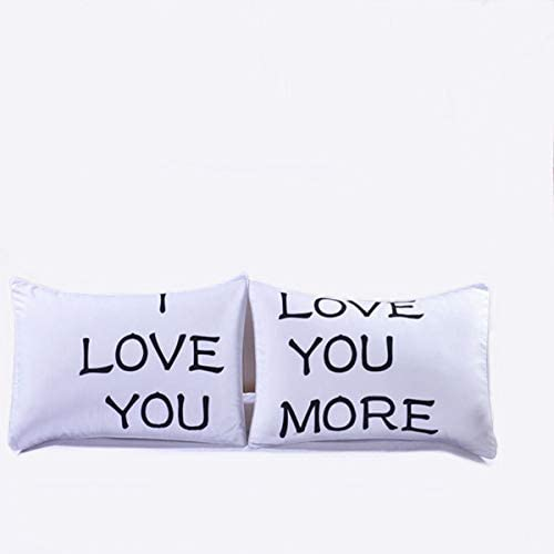 Warmht Couples Pillowcases Romantic Gifts for Him for Her for Valentines Day Anniversary Wedding product image