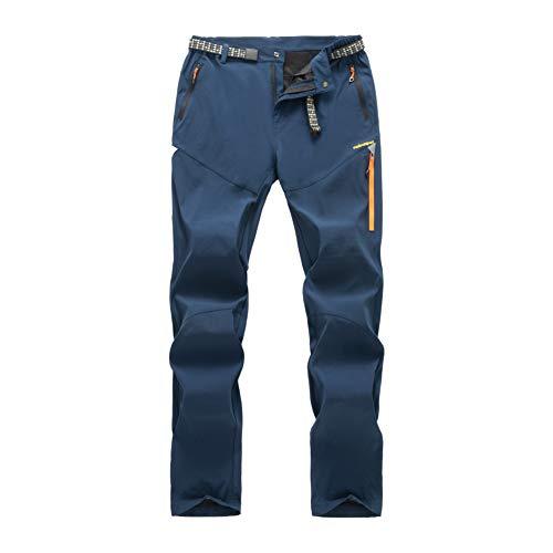LY4U Pantalon de randonnée en Plein air pour Homme Pantalon léger et Respirant...
