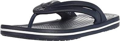 crocs Women's Crocband Flip W Navy Slipper-6 UK (206100-410)-W8