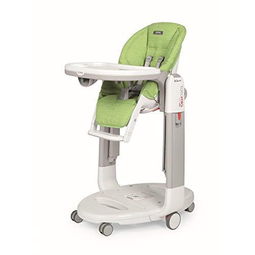 Chaise haute Tatamia Follow Me - Wonder Green - Peg Pérégo