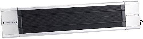 Semptec Dunkelstrahler: Profi-Infrarot-Heizstrahler RA-118, Fernbed, 1.800 W, IP55 (Dunkelheizstrahler) - 5